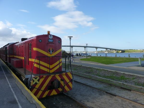 Cockle Train pulled by a historic diesel loco