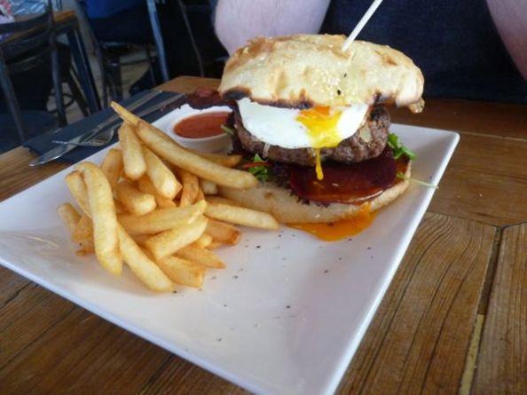 Wharf Burger